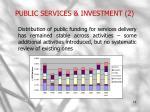 public services investment 2
