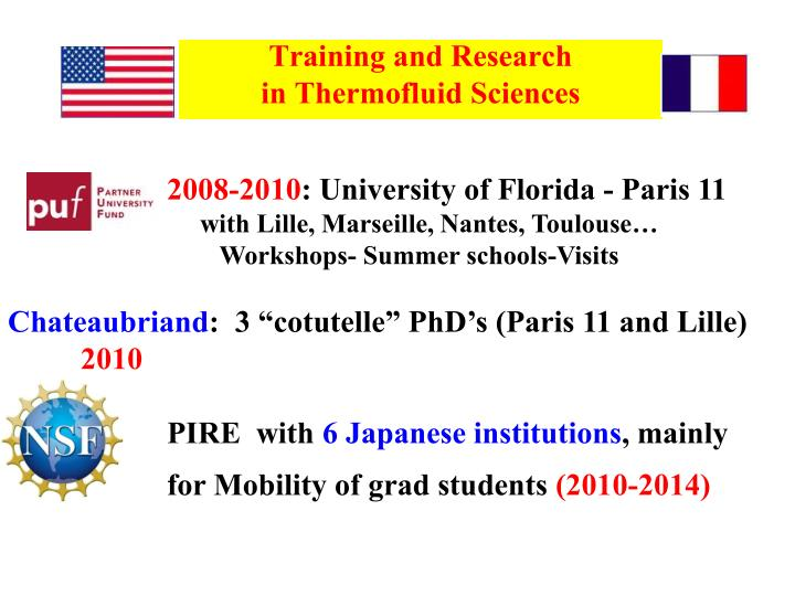 Training and Research