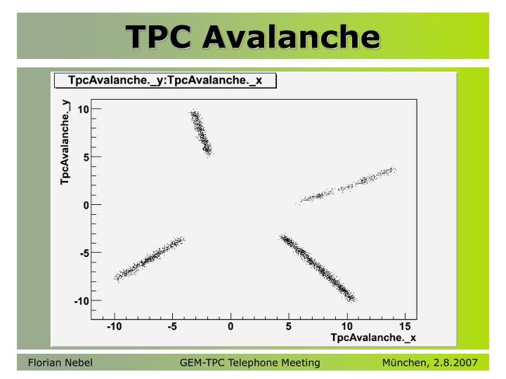 TPC Avalanche