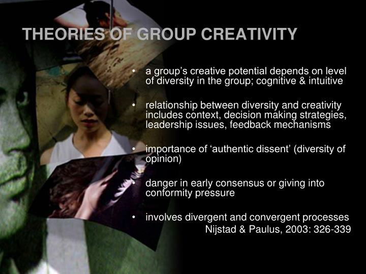 THEORIES OF GROUP CREATIVITY