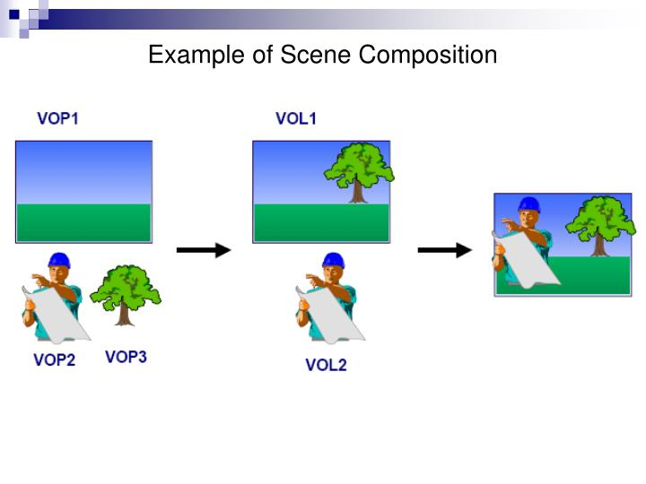Example of Scene Composition