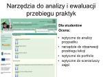 narz dzia do analizy i ewaluacji przebiegu praktyk2