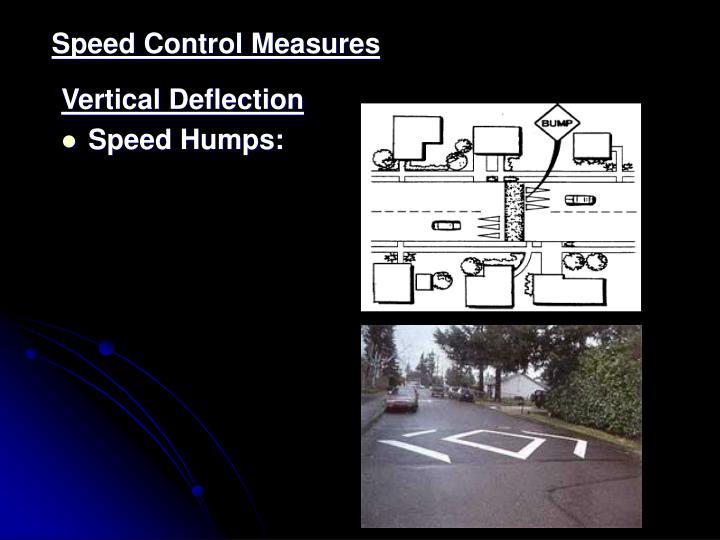 Speed Control Measures