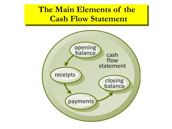 The Main Elements of the  Cash Flow Statement