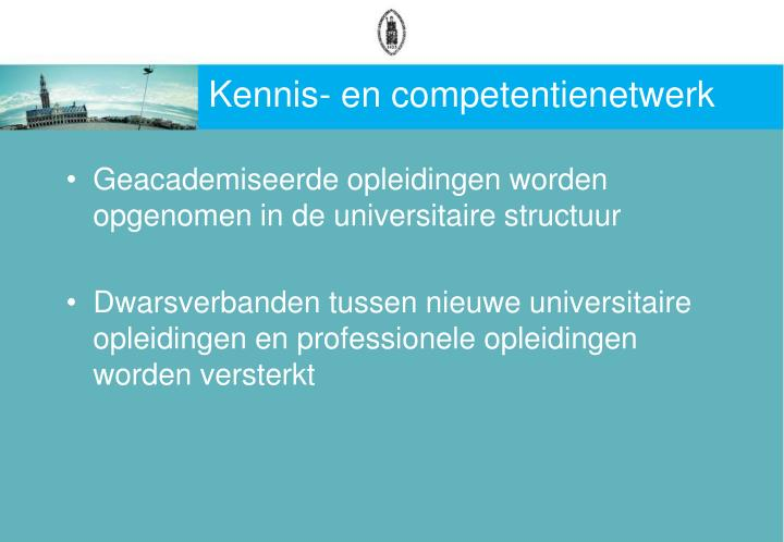Kennis- en competentienetwerk