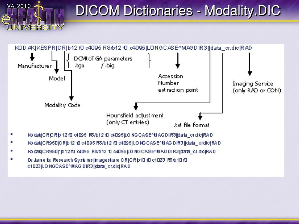 Dicom tag extractor