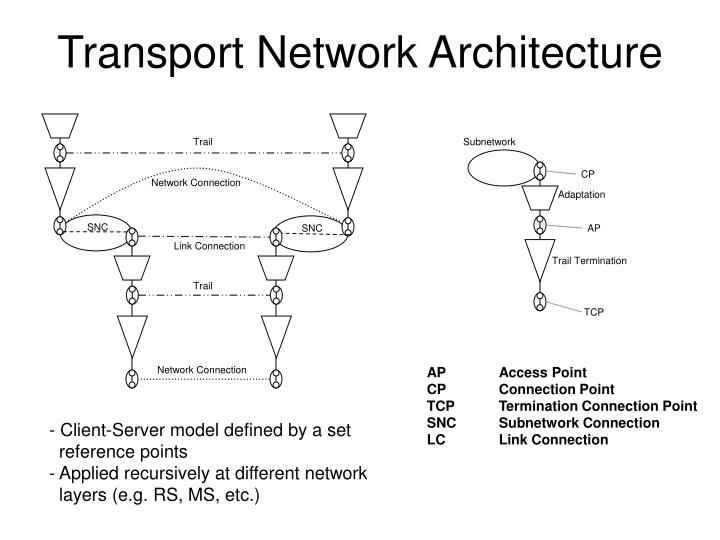 Transport network architecture