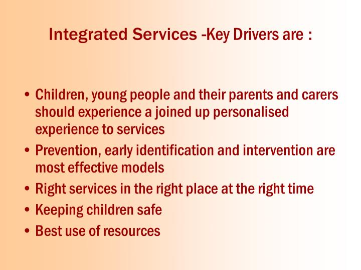 Integrated Services -