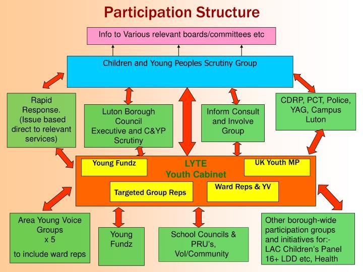 Participation Structure