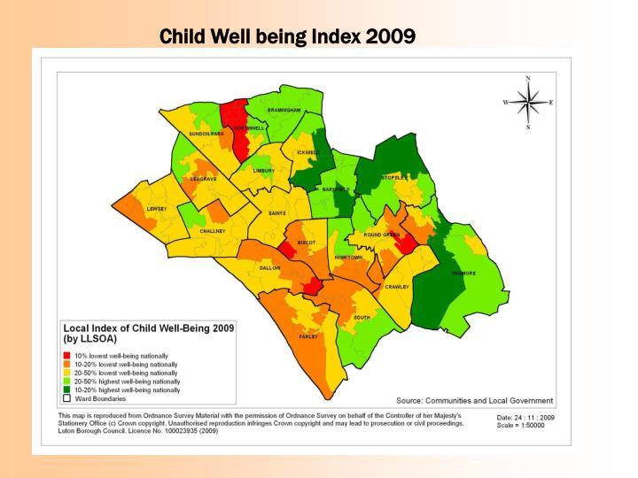 Child Well being Index 2009