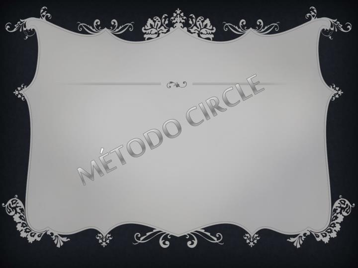 MÉTODO CIRCLE
