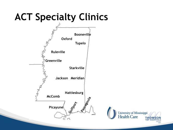 ACT Specialty Clinics