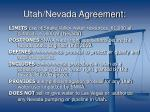 utah nevada agreement