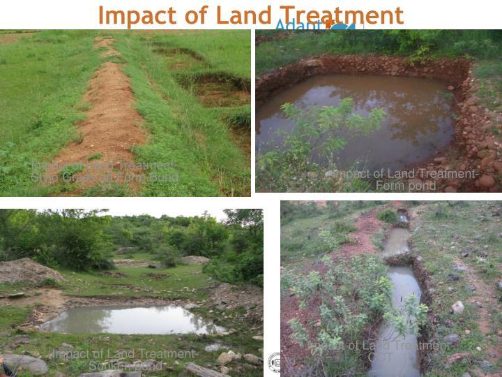 Impact of Land Treatment