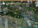 installed bts location