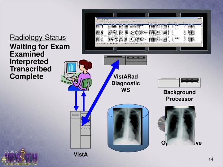 VistARad Diagnostic WS