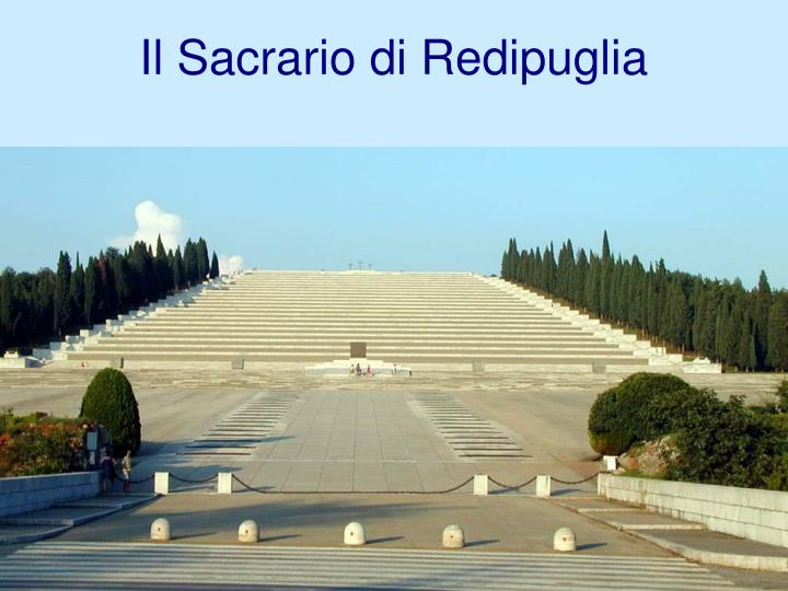 Il Sacrario di Redipuglia