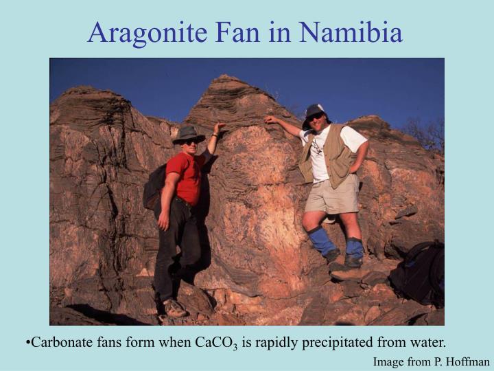 Aragonite Fan in Namibia