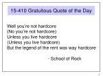 15 410 gratuitous quote of the day