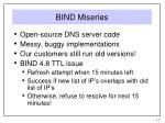 bind miseries