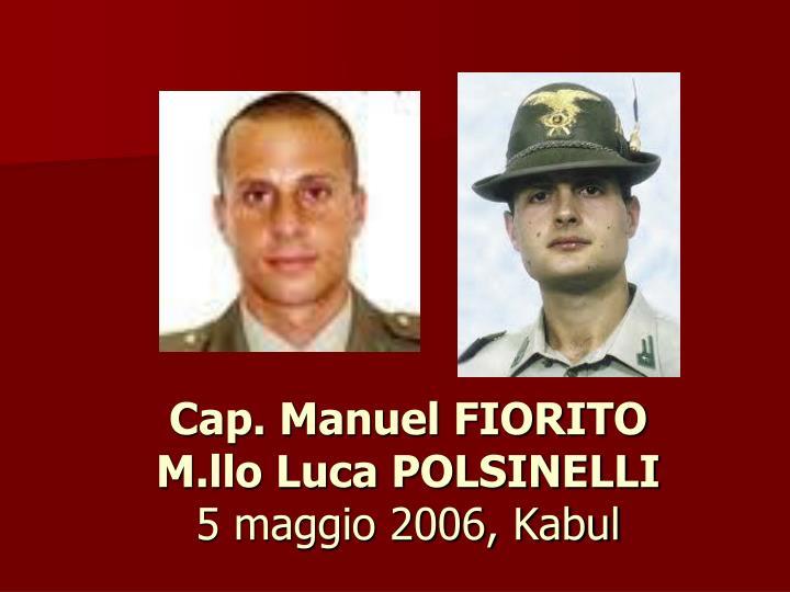 Cap. Manuel FIORITO