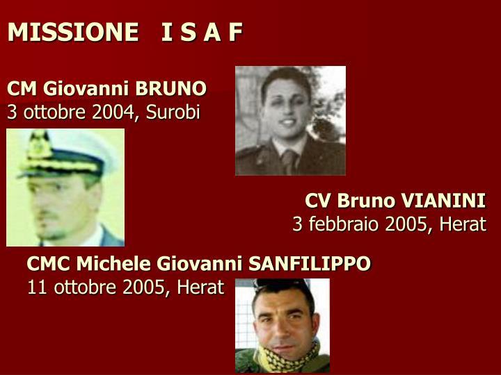 CMC Michele Giovanni SANFILIPPO