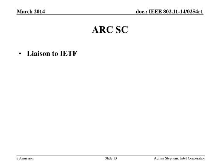 ARC SC