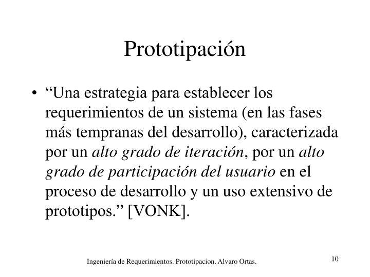 Prototipación