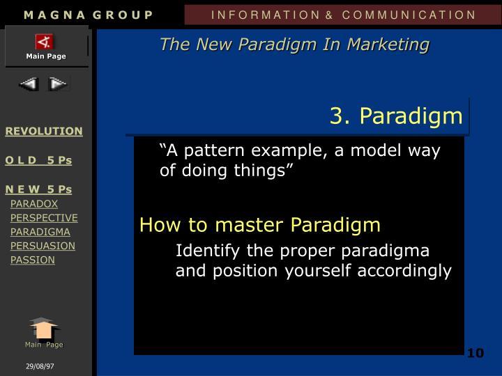 3. Paradigm
