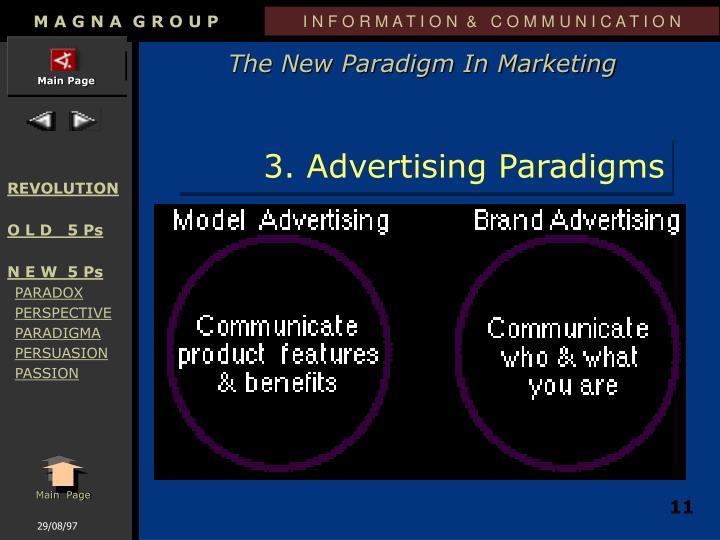 3. Advertising Paradigms