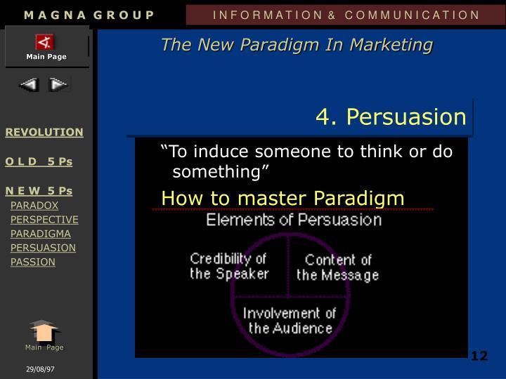 4. Persuasion