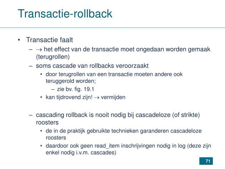 Transactie-rollback