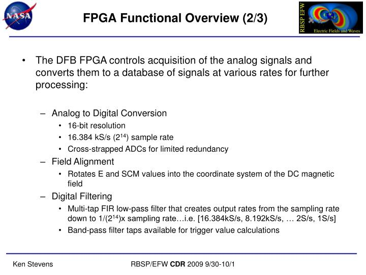 FPGA Functional Overview (2/3)