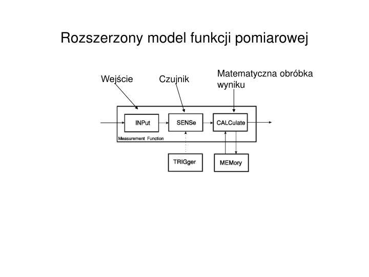 Rozszerzony model funkcji pomiarowej