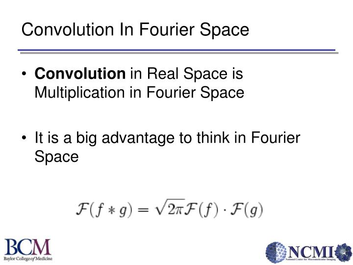 Convolution In Fourier Space