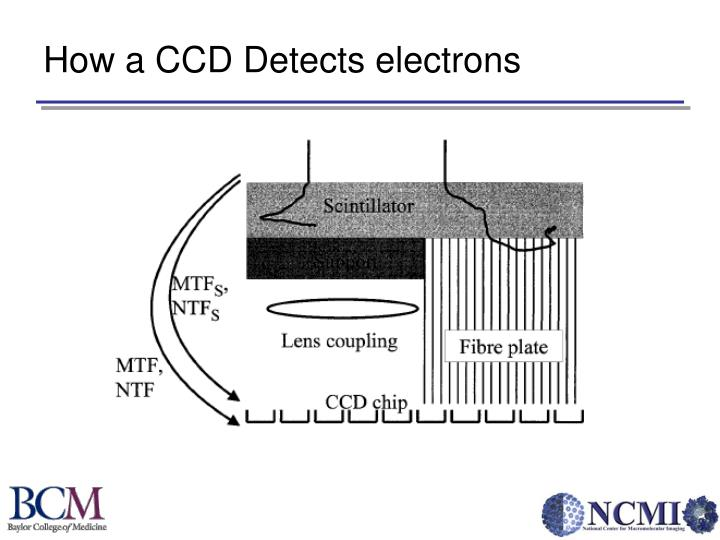 How a CCD Detects electrons