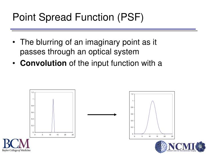 Point Spread Function (PSF)