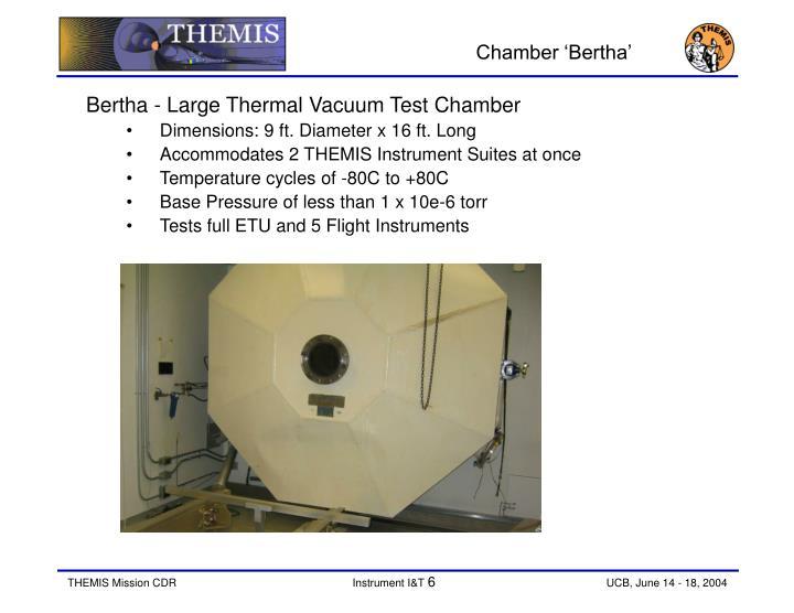 Chamber 'Bertha'