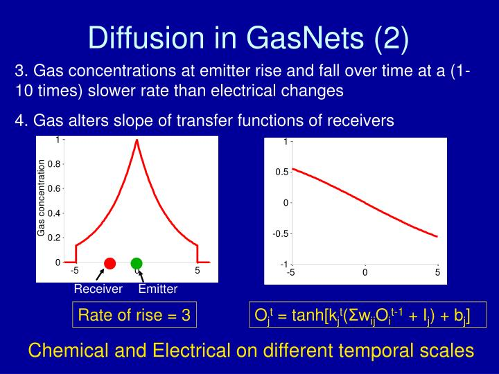 Diffusion in GasNets (2)