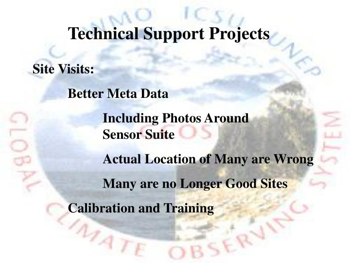 Technical Support Projects