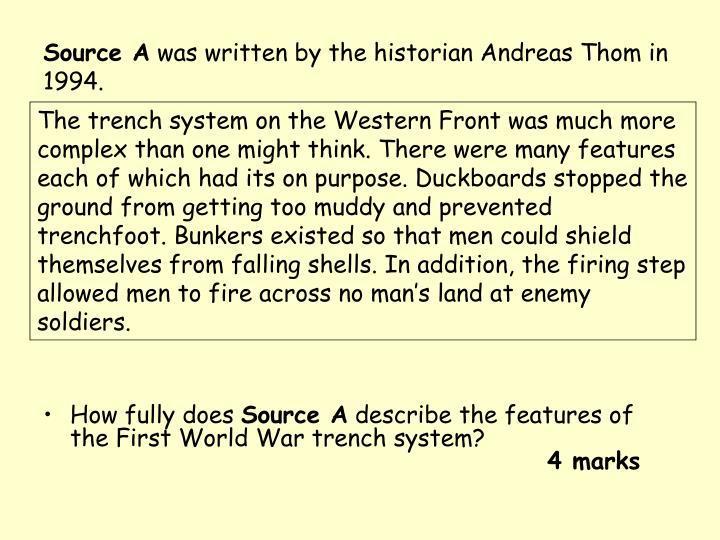 Source A