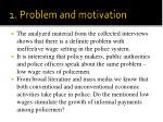 1 problem and motivation