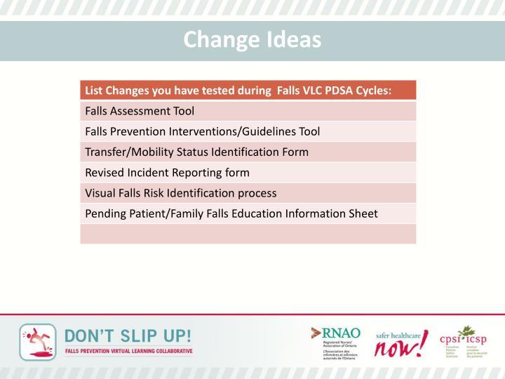 Change Ideas