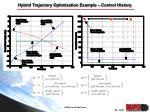 hybrid trajectory optimization example control history
