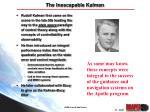 the inescapable kalman