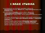 1 bake itunak