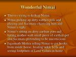 wonderful nimai