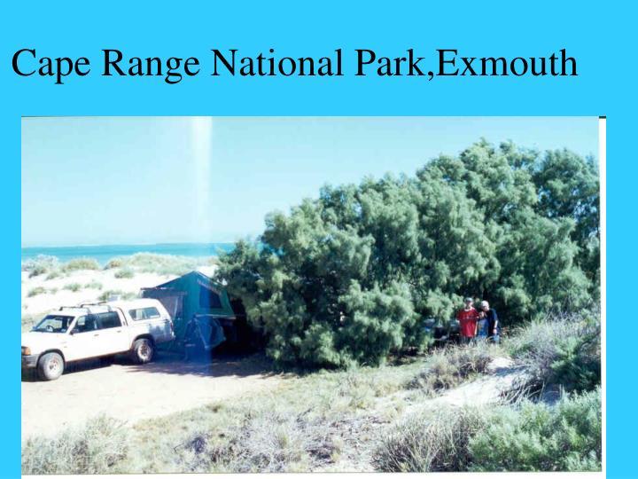 Cape Range National Park,Exmouth