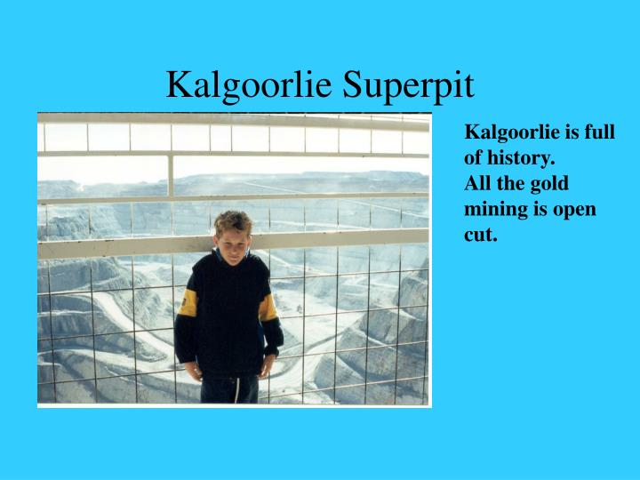 Kalgoorlie superpit