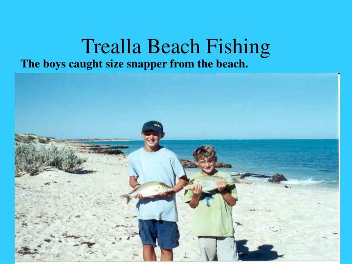 Trealla Beach Fishing